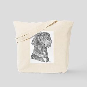 NBW Dots Collar Tote Bag