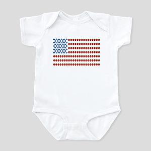 Fruit American Flag Infant Bodysuit