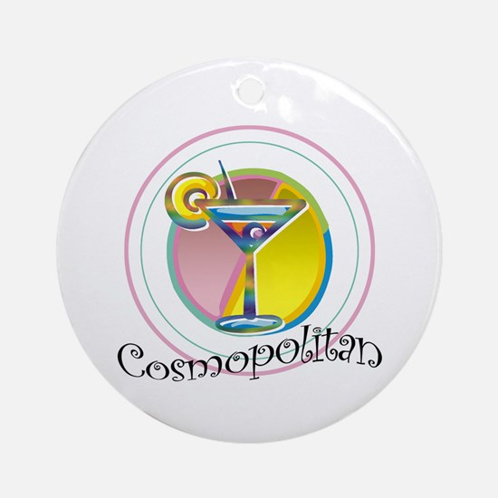 Cosmopolitan Keepsake (Round)