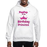 1st Birthday Princess's PopPo Hooded Sweatshirt