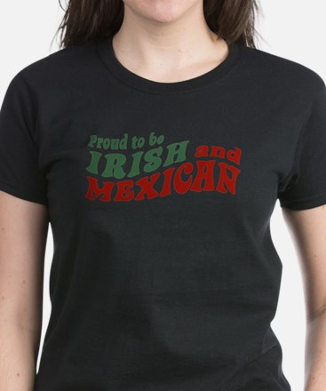 Proud Irish Mexican Women's Dark T-Shirt