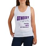 Atheist I Vote Women's Tank Top