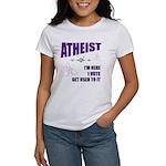 Atheist I Vote Women's T-Shirt
