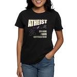 Atheist I Vote Women's Dark T-Shirt