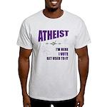 Atheist I Vote Light T-Shirt