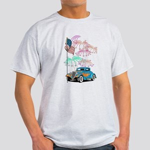 Patriotic Hot Rod Light T-Shirt