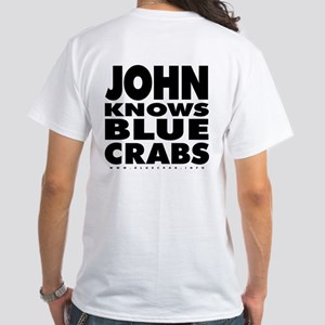 John Knows White T-Shirt