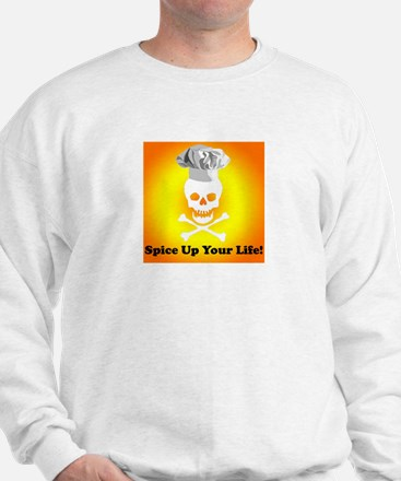 Cooking Skull Chef Sweatshirt