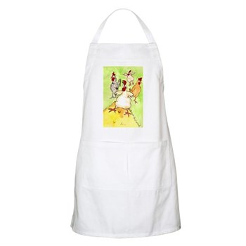 Screaming Chickens BBQ Apron