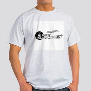 Anti-Narcissist&#8482 Ash Grey T-Shirt