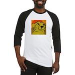 Cheetah of the African Sun Baseball Jersey