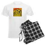 Cheetah of the African Sun Men's Light Pajamas