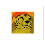 Cheetah of the African Sun Small Poster