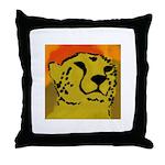 Cheetah of the African Sun Throw Pillow