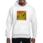Cheetah of the African Sun Hooded Sweatshirt
