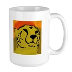 Cheetah of the African Sun Large Mug