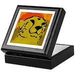 Cheetah of the African Sun Keepsake Box