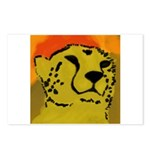 Cheetah of the African Sun Print Postcards 8 pack