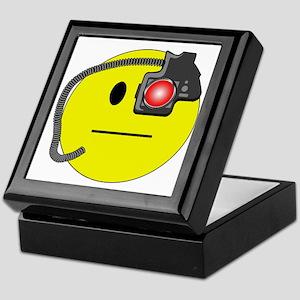 Assimilated Smiley Keepsake Box