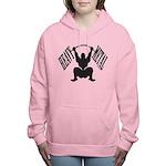 Bodybuilding Heavy Metal Women's Hooded Sweatshirt