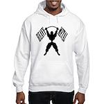 Bodybuilding Heavy Metal Hooded Sweatshirt