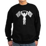 Bodybuilding Heavy Metal Sweatshirt (dark)