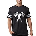 Bodybuilding Heavy Metal Mens Football Shirt