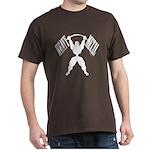 Bodybuilding Heavy Metal Dark T-Shirt