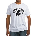 Bodybuilding Heavy Metal Fitted T-Shirt