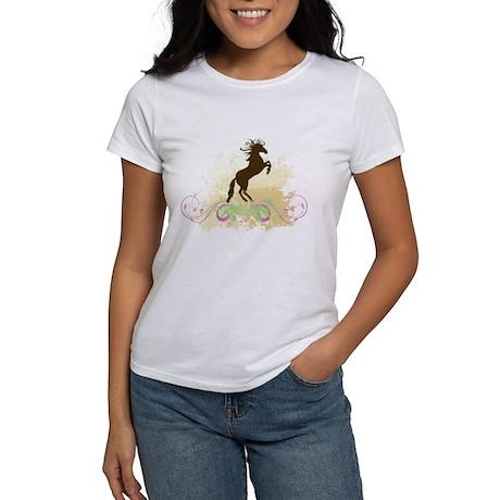 Swirls/Horse Women's T-Shirt