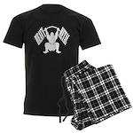 Bodybuilding Heavy Metal Men's Dark Pajamas