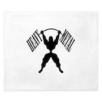 Bodybuilding Heavy Metal King Duvet