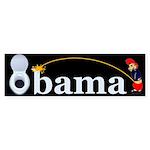 Whiz on Obama Bumper Sticker (10 pk)