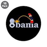 "Whiz on Obama 3.5"" Button (10 pack)"