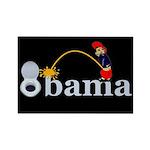 Whiz on Obama Rectangle Magnet (10 pack)