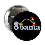 """Whiz on Obama 2.25"""" Button"""