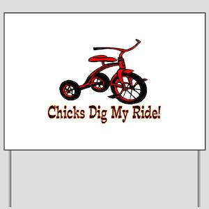 Dig My Ride Yard Sign