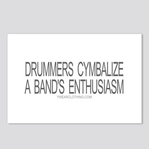 Drummers Cymbalize Postcards (Package of 8)