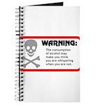 Warning: alcohol whispering Journal