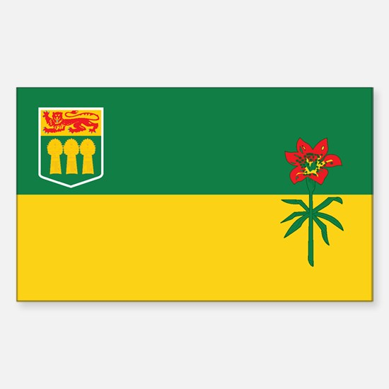 SASKATCHEWAN Rectangle Decal