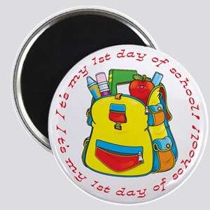 First 1st Day of School Magnet