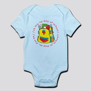 First 1st Day of School Infant Bodysuit