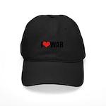 I Love War Black Cap