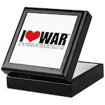 I Love War Keepsake Box
