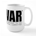 I Love War Large Mug