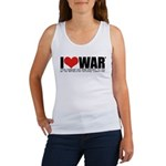 I Love War Women's Tank Top
