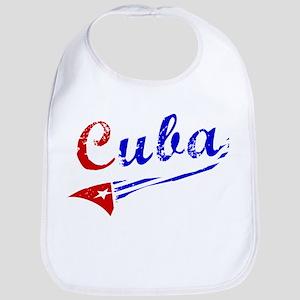 Cuba Flag Distressed Bib