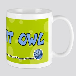 Knit owl Mug