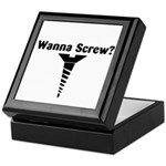 Wanna Screw? Keepsake Box