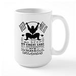 Funny Bodybuilding Squats 15 oz Ceramic Large Mug